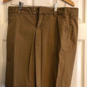 EUC dark sand shorts- Vince- size 10